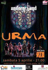Concert Urma in Underground Pub