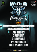 Wacken Metal Battle Romania 2014: Semifinala Sud in Private Hell