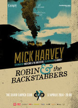 Concert Mick Harvey si Robin and the Backstabbers in Flying Circus Pub