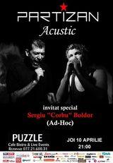 Concert acustic Partizan in Club Puzzle