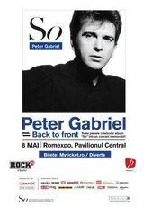Concert Peter Gabriel la Romexpo