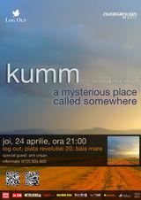 Concert Kumm: lansarea albumului