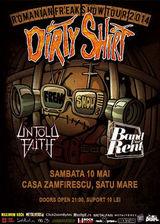 Concert Dirty Shirt la Casa Zamfirescu
