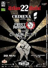 Crimena, First Division si Chaos Cult filmeaza un DVD la Club B52