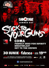 Concert Stick To Your Guns in iunie la Bucuresti