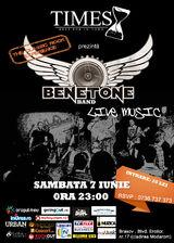 Concert Benetone Band in Pub Times din Brasov