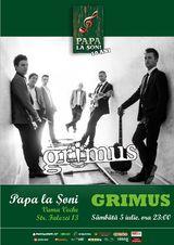 Grimus canta la Papa La Soni in Vama Veche pe 5 iulie