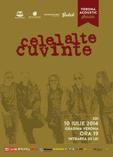 Celelalte Cuvinte concerteaza acustic joi, pe 10 iulie, la Gradina Verona