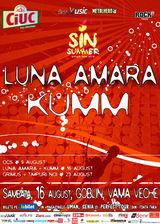 Luna Amara si KUMM canta pe 16 august in Goblin din Vama Veche in cadrul Sin Summer