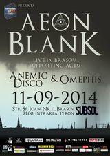 Aeon Blank, concert in Brasov