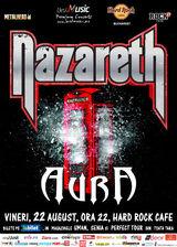 Legenda rockului britanic, Nazareth revine la Bucurest in luna august !