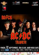 Tribut AC/DC cu THE ROCK la Hard Rock Cafe