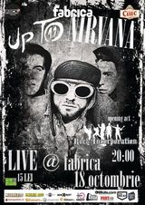 Concert tribut Nirvana, in Club Fabrica