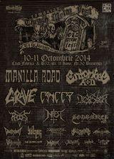 Romanian Thrash Metal Fest 2014 in octombrie la Club Fabrica
