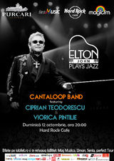 Elton John Plays Jazz, duminica, 12 octombrie, la Hard Rock Cafe