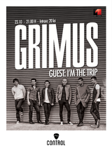 Concert Grimus si I'm The Trip in Control Club Bucuresti