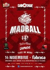 Concert MADBALL in Club Fabrica Bucuresti