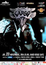 Concert CARGO pe 20 noiembrie la Hard Rock Cafe