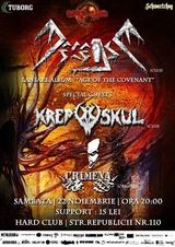 Concert lansare de album DECEASE in Hard Club - Cluj-Napoca