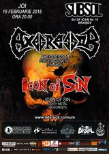 Concert Axegressor  si Icon of Sin in Brasov