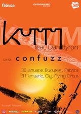 Concert Kumm la Bucuresti in Fabrica pe 30 Ianuarie