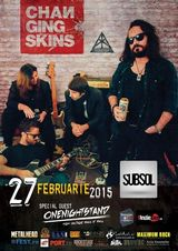 Changing Skins - concert la Brasov pe 27 Februarie in Club Subsol