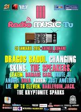Changing Skins sunt invitati la Radio Music TV de pe 31 Ianuarie de la Arenele Romane