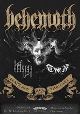 Behemoth - concert la Timisoara pe 22 Aprilie in Daos club