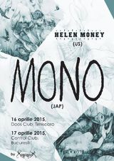Concert MONO si Helen Money la Bucuresti pe 17 Aprile in Control Club