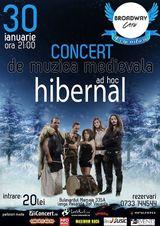 Ad Hoc - concert in Constanta in Broadway Cafe pe 30 Ianuarie