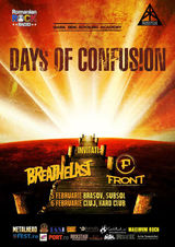 Concert Days of  Confusion si Breathelast la Brasov pe 5 Februarie in Subsol Club