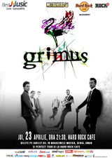 GRIMUS in concert la Hard Rock Cafe