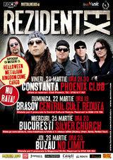 Concert Rezident Ex in Constanta