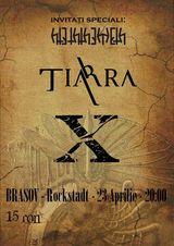 Tiarra va canta la Brasov pe 23 Aprilie in Club Rockstadt
