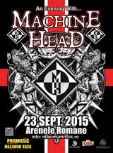 Concert Machine Head in Romania pe 23 Septembrie la Arenele Romane