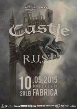 CASTLE live in club Fabrica din Bucuresti pe 10 Mai