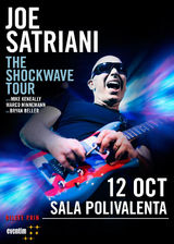 JOE SATRIANI canta in Bucuresti pe 12 Octombrie la Sala Polivalenta