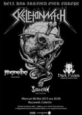 SKELETONWITCH la Bucuresti in Club Colectiv pe 6 Mai