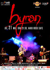 Concert byron pe 21 mai la Hard Rock Cafe
