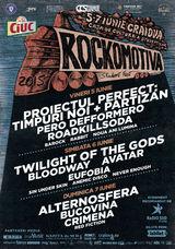 ROCKOMOTIVA 2015 se face la Craiova. Primele capete de linie: Twilight of the Gods, Alternosfera si Pero Defformero