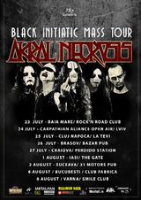 Akral Necrosis prezinta Black Initiatic Mass Tour 2015