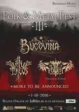 Folk & Metal Fest cu Bucovina, An Theos si Folkheim - editia a III-a