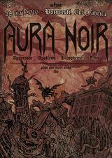 Concert Aura Noir in Bucuresti pe 28 Mai in Fabrica