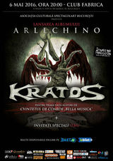 Kratos lanseaza pe 6 mai noul album: Arlechino