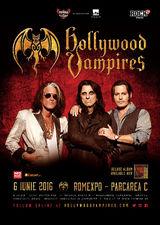 The Hollywood Vampires la Romexpo pe 6 Iunie