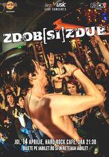 Zdob si Zdub in concert extraordinar pe 14 aprilie la Hard Rock Cafe