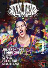 Jinjer canta in Club Fabrica pe 16 Mai