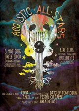 Acoustic All Stars va asteapta pe 5 Mai in Club Fire