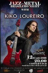 JAZZ-METAL BRASILIERO NIGHT cu Kiko Loureiro in Cooper's Pub