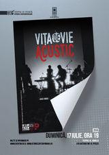 Concert acustic Vita de Vie la Scoala de vara din Pitesti